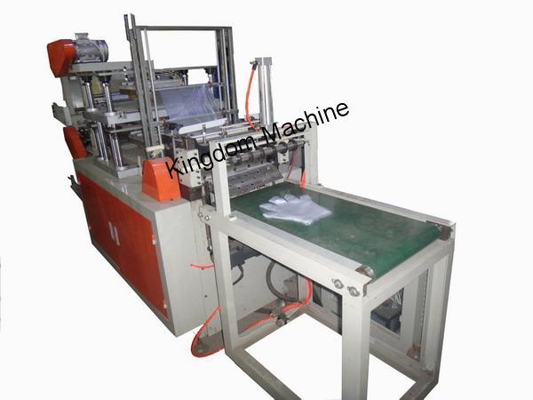 Maquina para fabricar guantes de plastico